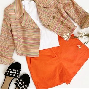 Milly multicolor Crop Jacket